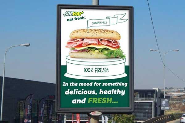 Street Pole Ads