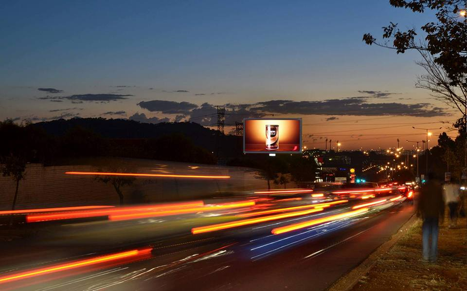 A premium #OOH format for a premium brand. NESCAFÉ shines bright on Primedia Outdoor's Soweto LED.