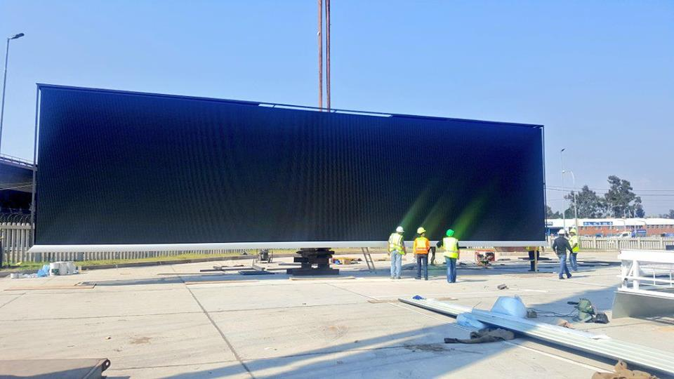 The latest 4.5 x 18m LED addition to our Digital Network situated along the M1 Highway
