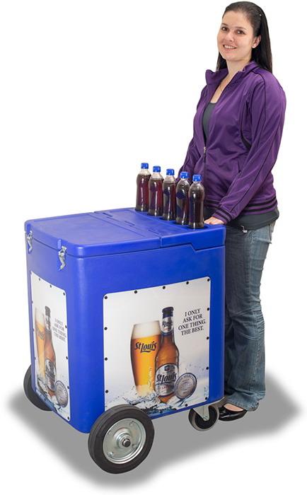4 Case Push Cart