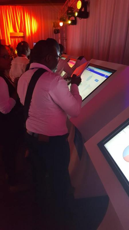 Touch Screen Kiosks for rent South Africa