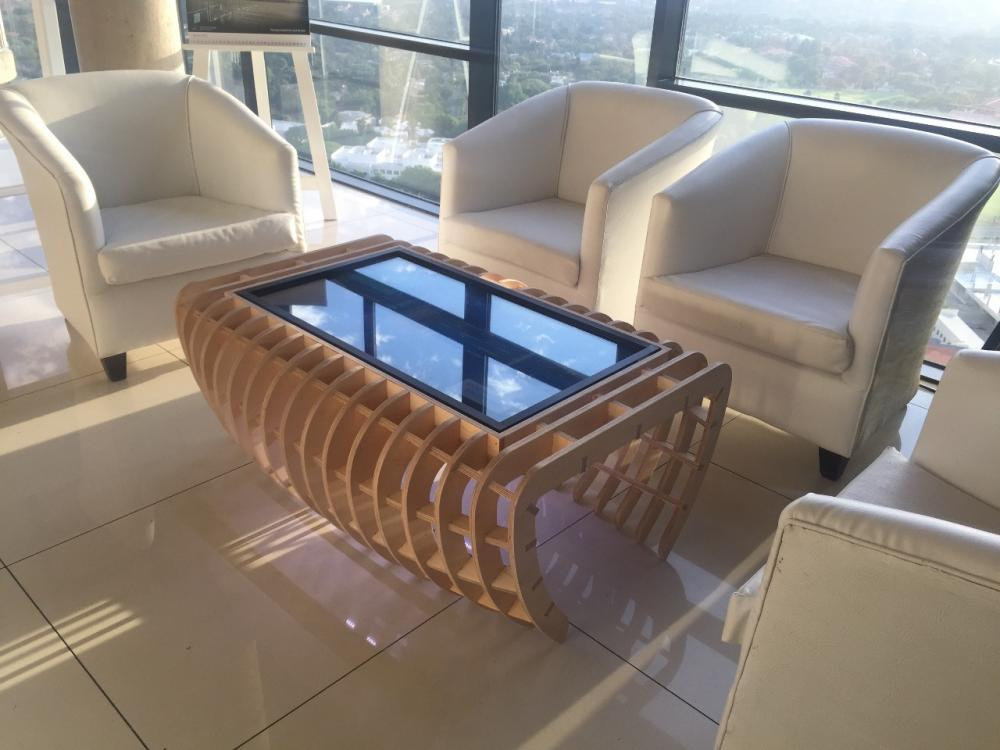 coffee touch table for lounge area for rental