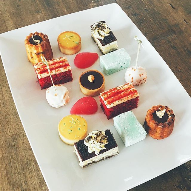 Our Patisserie division has been busy... #desserts #redvelvet #chocolate