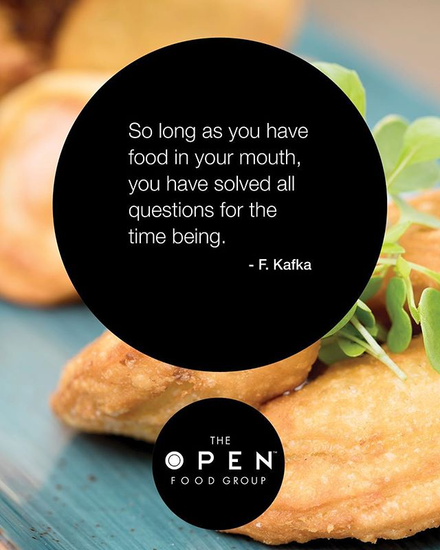 So as long as you have food in your mouth, you have solved all the questions for the time being... #quoteoftheday #foodphotography #tuesdaythoughts