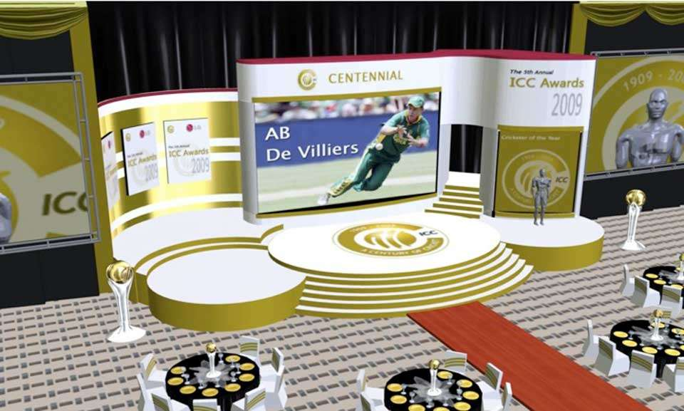 ICC AWARDS – Gala Awards Concept