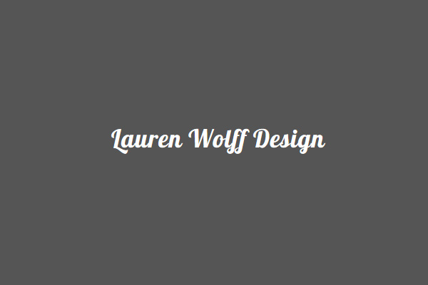 Lauren Wolff Design